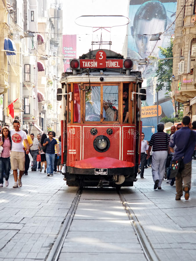Download Taksim-Tunel tram editorial image. Image of trolley, tourism - 15078065