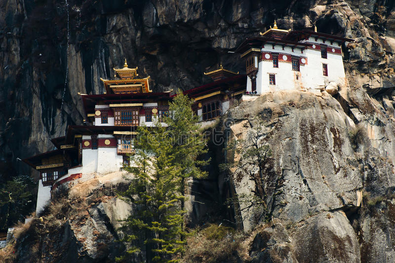 Taktsang修道院-不丹 免版税图库摄影