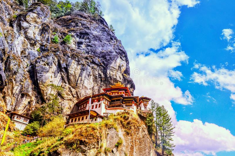 Taktsang Lhakhang & x28;The Tiger's Nest Temple& x29; is Bhutan's most iconic landmark and religious site. Taktsang lhakhang & x28;the 's royalty free stock photo