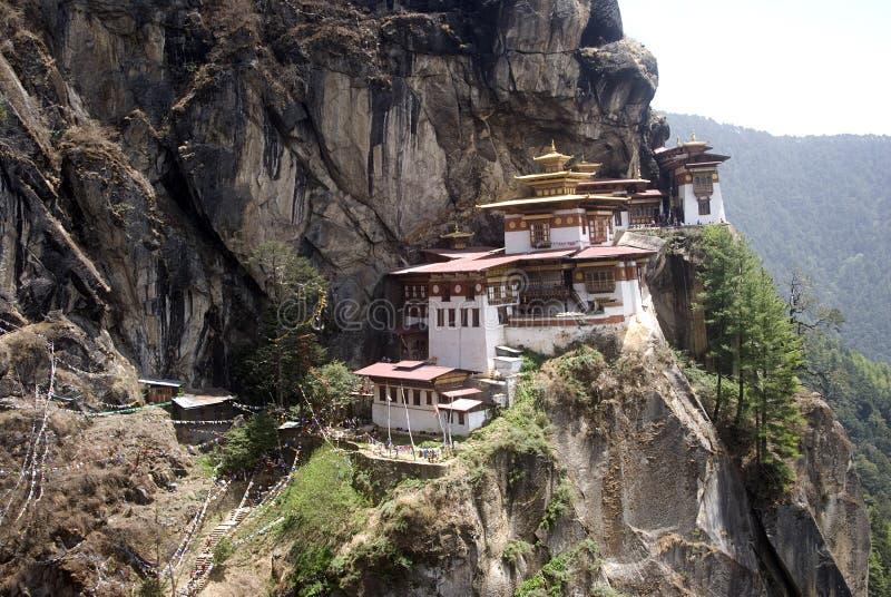 Taktshang Goemba, Bhután imágenes de archivo libres de regalías