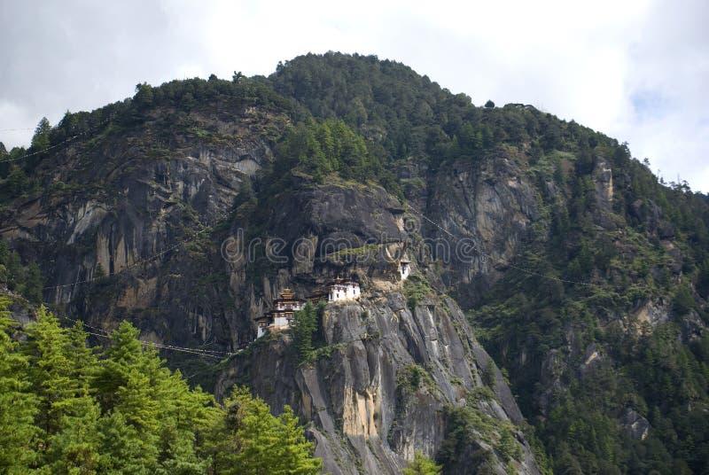Taktshang Goemba, Bhutan. Taktshang Goemba, the famous Tiger's Nest in Bhutan royalty free stock photography