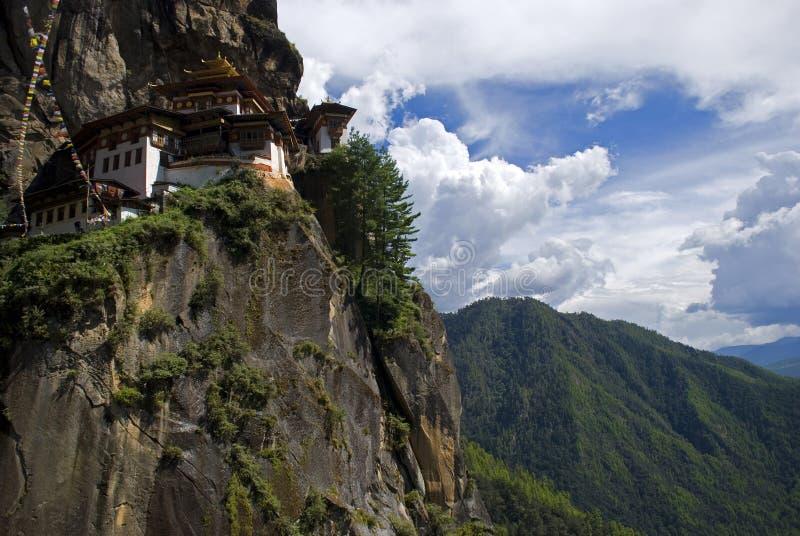 Taktshang Goemba, Bhutan. The famous Tiger's Nest, Taktshang Goemba, Bhutan stock image