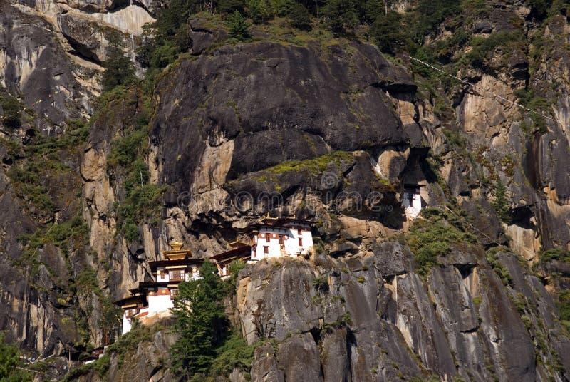 Taktshang Goemba, Bhutan. The famous Tiger's Nest, Taktshang Goemba, Bhutan royalty free stock image