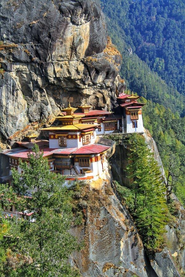 Taktshang Goemba or Tiger`s nest monastery, Paro, Bhutan. Taktshang Goemba or Tiger`s nest monastery, Paro, Bhutan royalty free stock photography