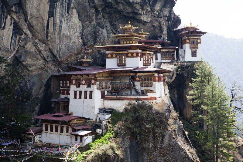 Taktshang Goemba (Tiger's Nest) in Western Bhutan. Asia stock images