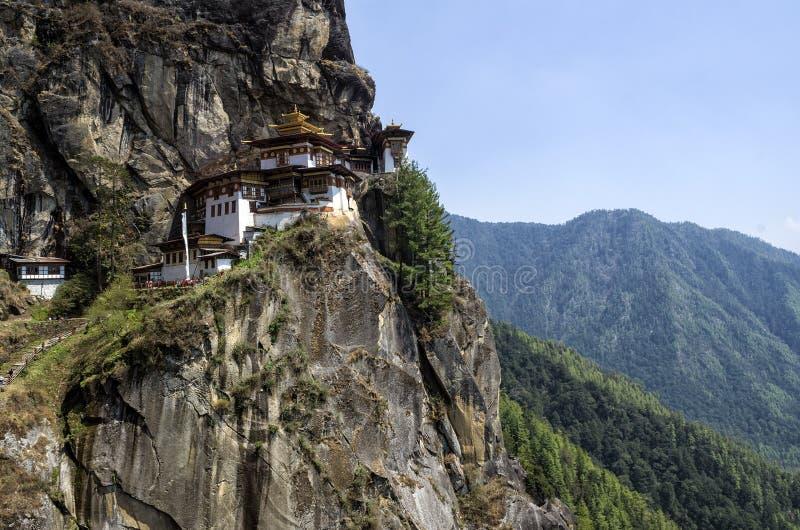 Taktshangklooster, Bhutan royalty-vrije stock fotografie