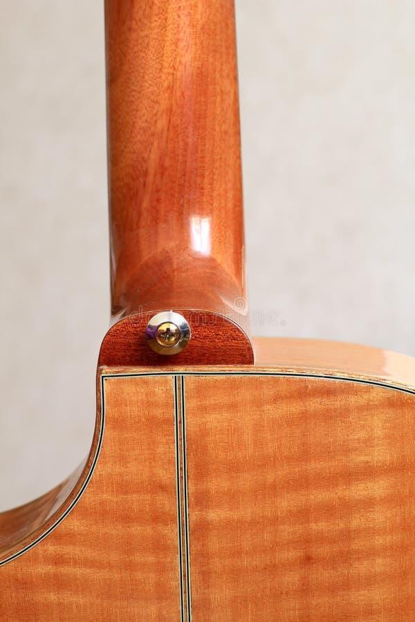 Talón de la guitarra foto de archivo