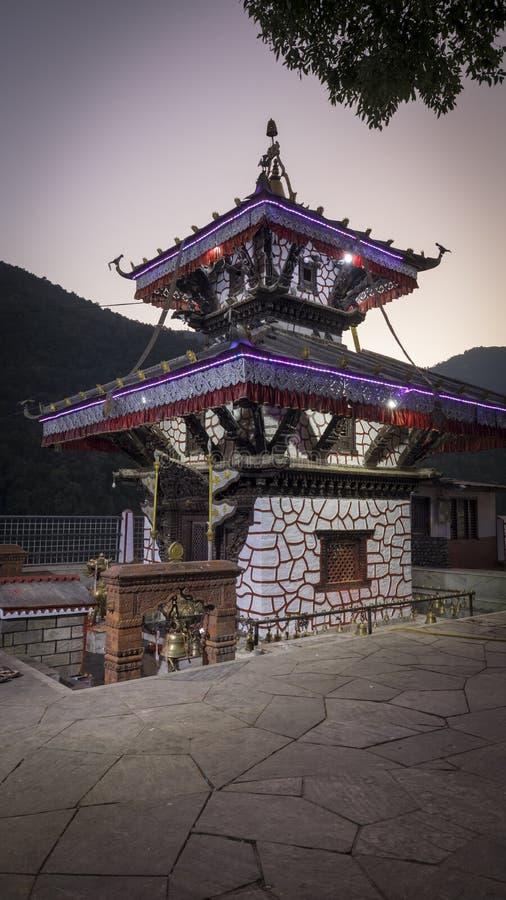 Tal Barahi Temple Pokhara Nepal stockfoto