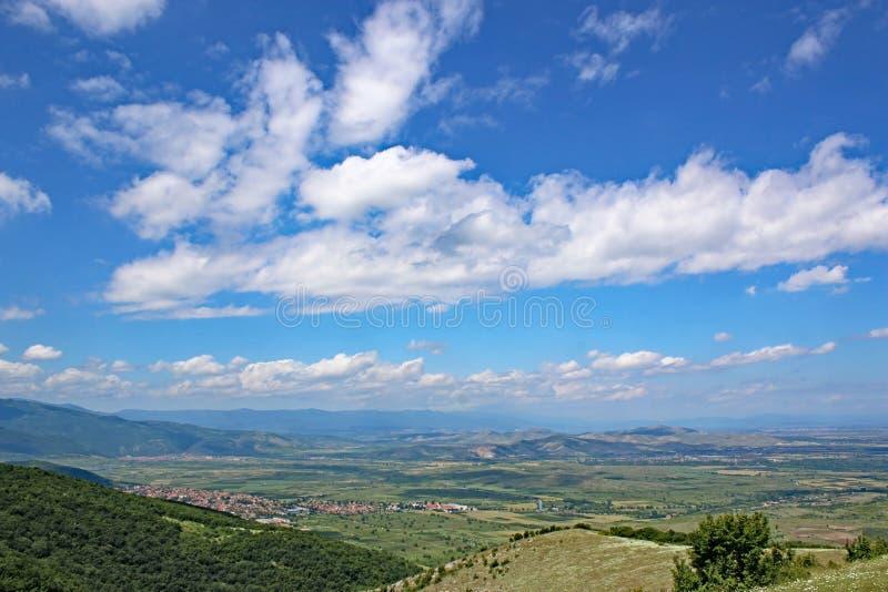 Tal in Bulgarien stockfotografie