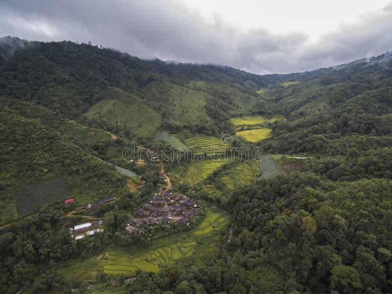 Tal in Chiang Mai, Thailand lizenzfreies stockbild