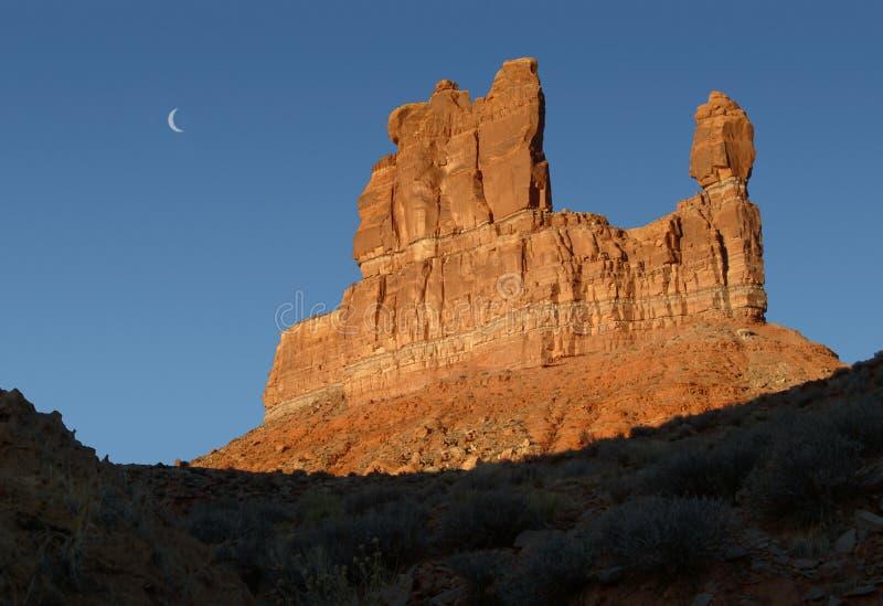 Tal der Götter Utah. lizenzfreies stockbild