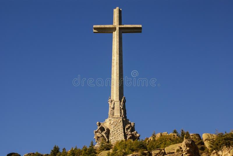 Tal des gefallenen (Valle de Los Caidos) Madrids, Spanien lizenzfreie stockbilder