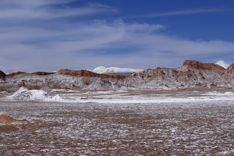 Tal des Mondes - Valle-De-La Luna, Atacama-Wüste, Chile lizenzfreie stockfotografie