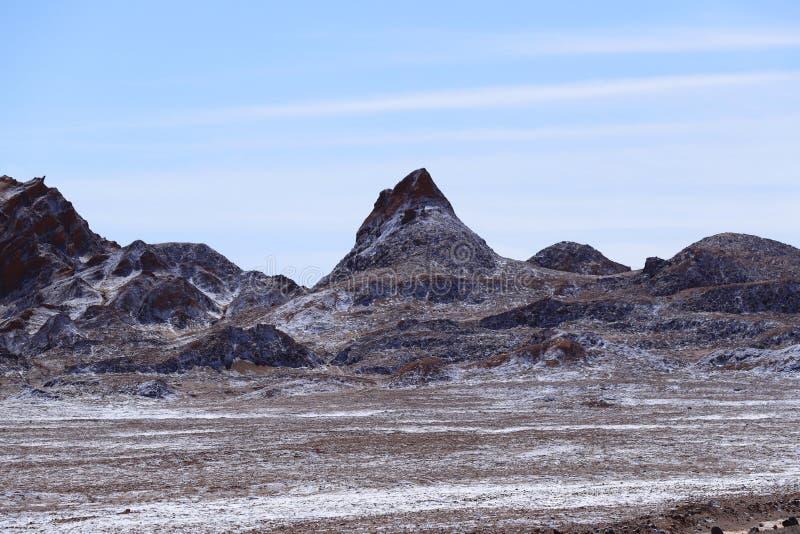 Tal des Mondes - Valle-De-La Luna, Atacama-Wüste, Chile stockbild