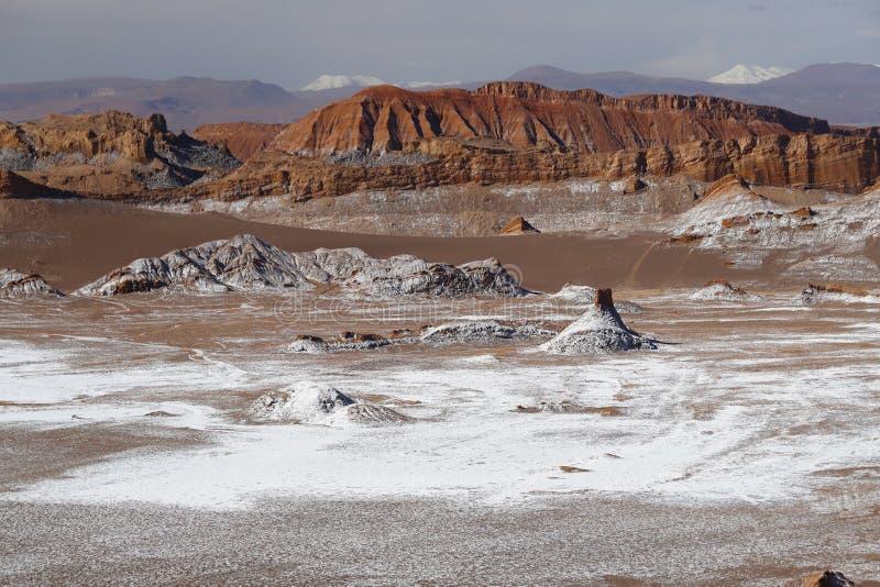 Tal des Mondes - Valle-De-La Luna, Atacama-Wüste, Chile stockfoto