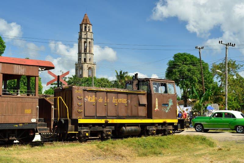 Tal Valle de Los Ingenios nahe Trinidad-Stadt in Kuba lizenzfreie stockfotografie