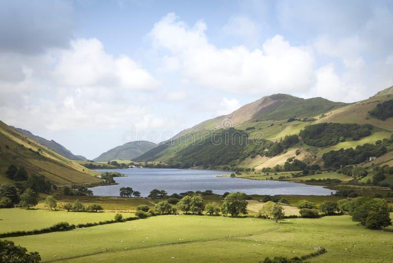 Tal y Llyn, Galles del nord immagini stock