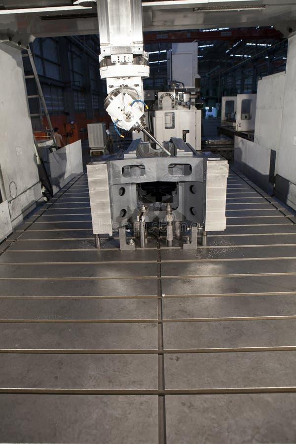 Download Taladro del metal foto de archivo. Imagen de torno, fabricación - 41919954