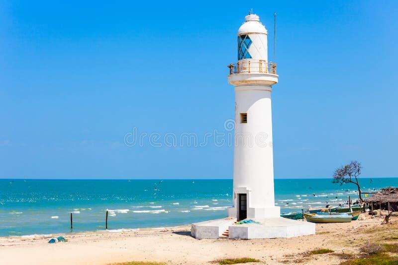 Talaimannar灯塔,斯里兰卡 库存图片