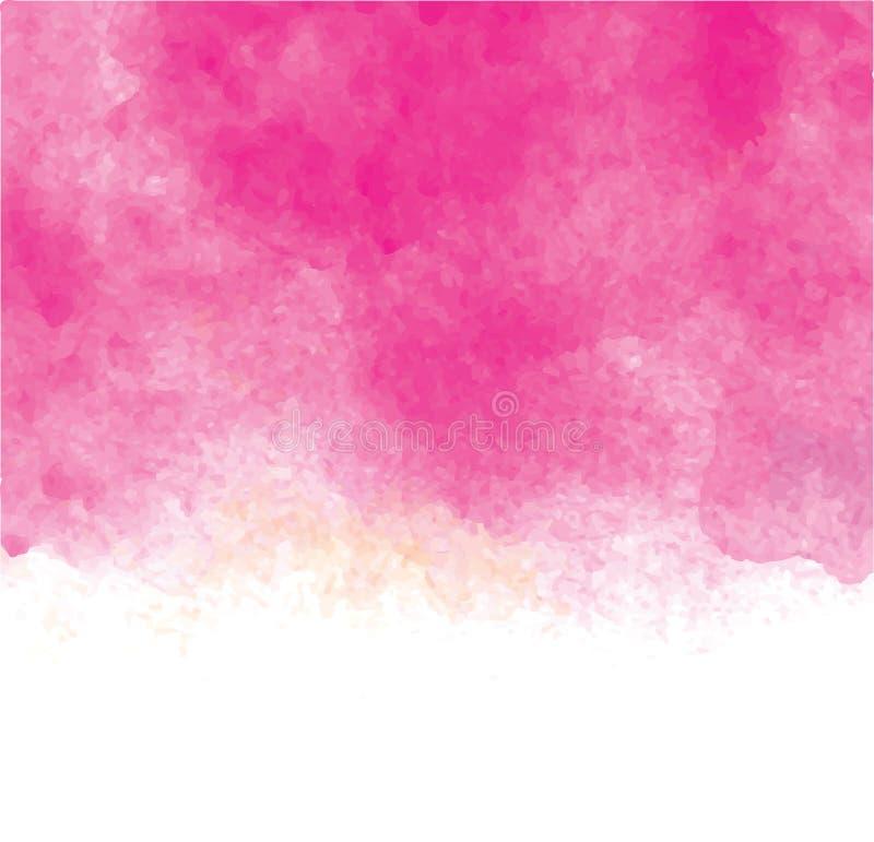 Talande bubblor för vattenfärg vektor illustrationer