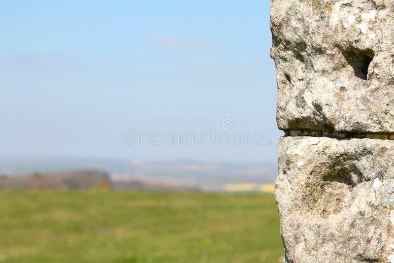 Talarkonst f?r St Catherines, ? av wighten, UK royaltyfri bild