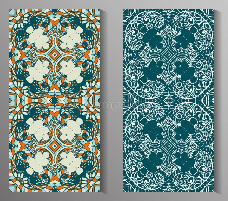 Talavera stylisé mexicain couvre de tuiles le modèle sans couture Fond pour la conception et la mode Modèles arabes et indiens illustration stock