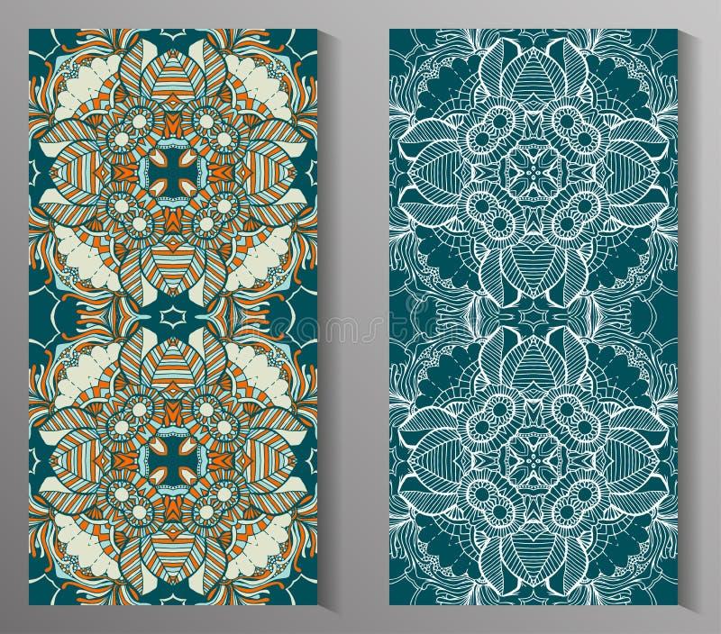 Talavera stylisé mexicain couvre de tuiles le modèle sans couture Fond pour la conception et la mode Modèles arabes et indiens illustration libre de droits
