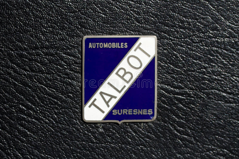 Download Talbot Automobiles Logo editorial photography. Image of automobile - 18386027