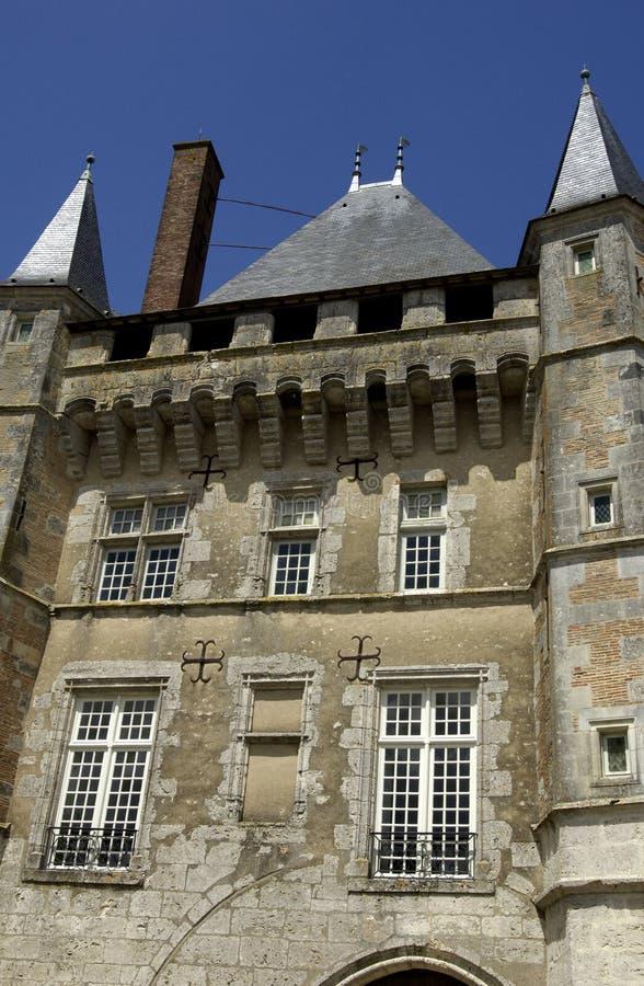 talcy Франции замока стоковое фото