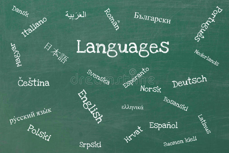 talen vector illustratie