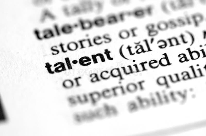 Talent. Fotografia Royalty Free
