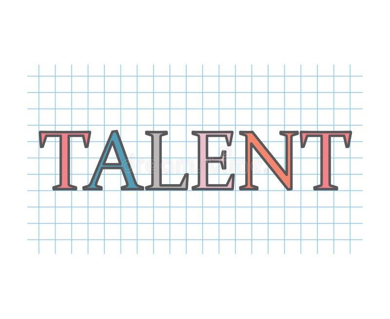 Talent concept- vector illustration. Colorful talent concept- vector illustration vector illustration
