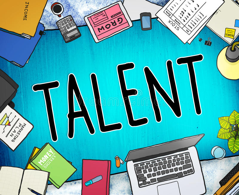 Talent Gifted Skills Abilities Capability Expertise Concept vector illustration