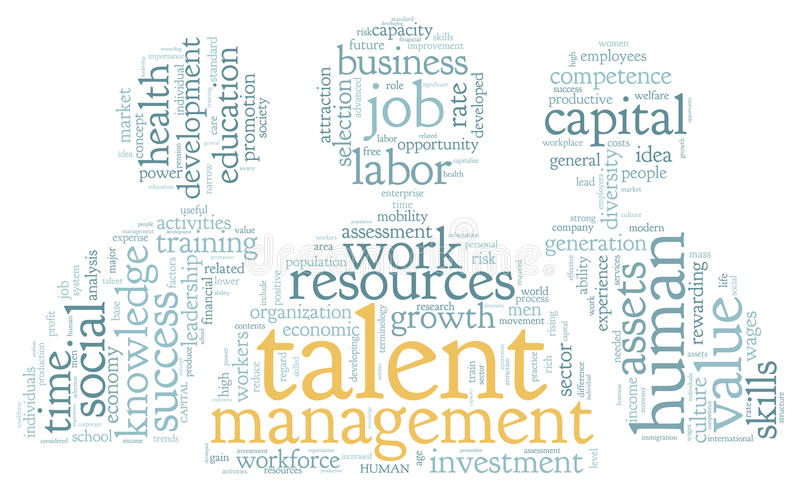 Download Talent Management In Word Tag Cloud Stock Images - Image: 31233894