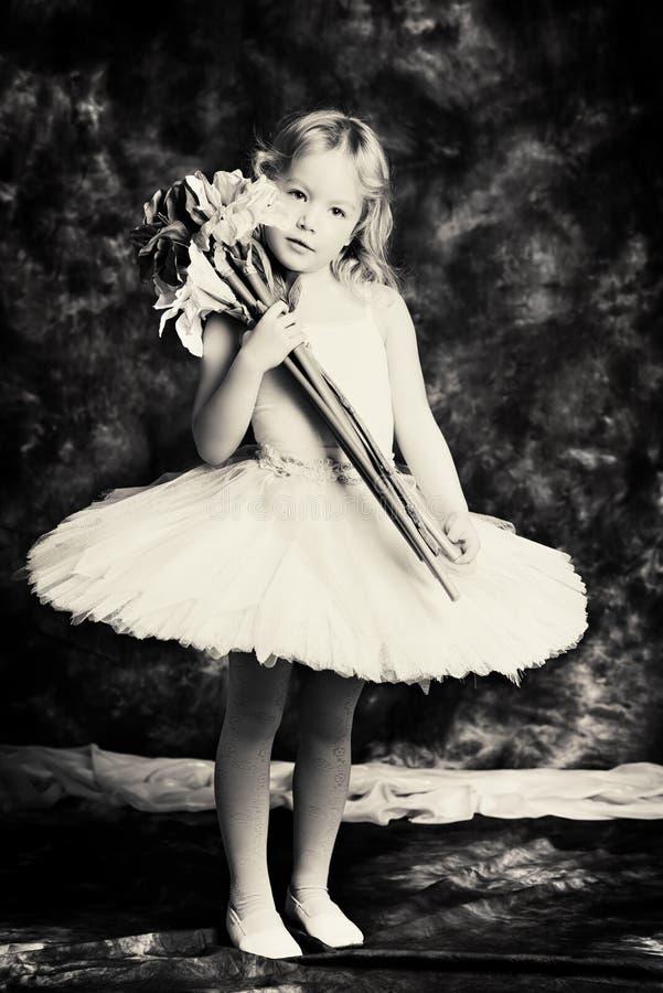 Little ballerina stock image. Image of caucasian, pink ...
