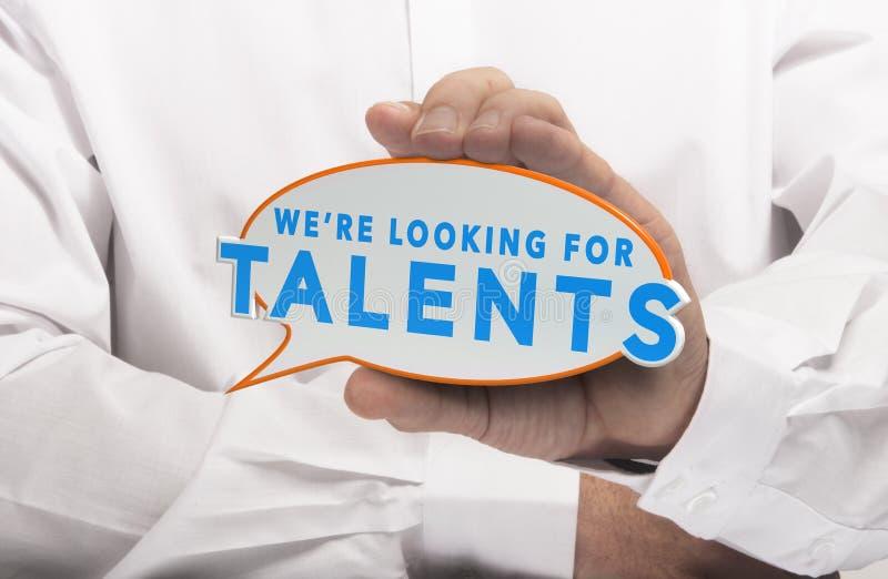 Talent rewizja zdjęcie stock