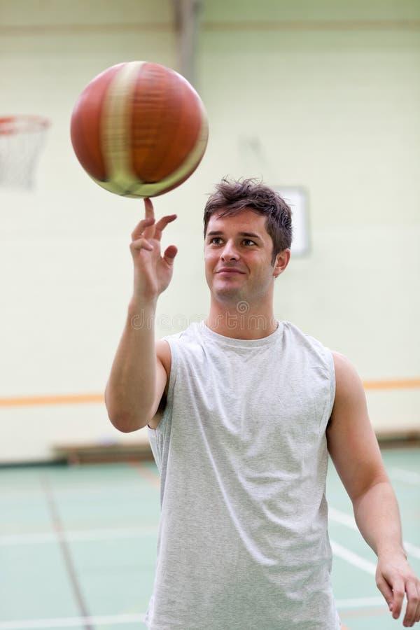 Free Talented Man Playing Basketball Royalty Free Stock Photos - 15970668