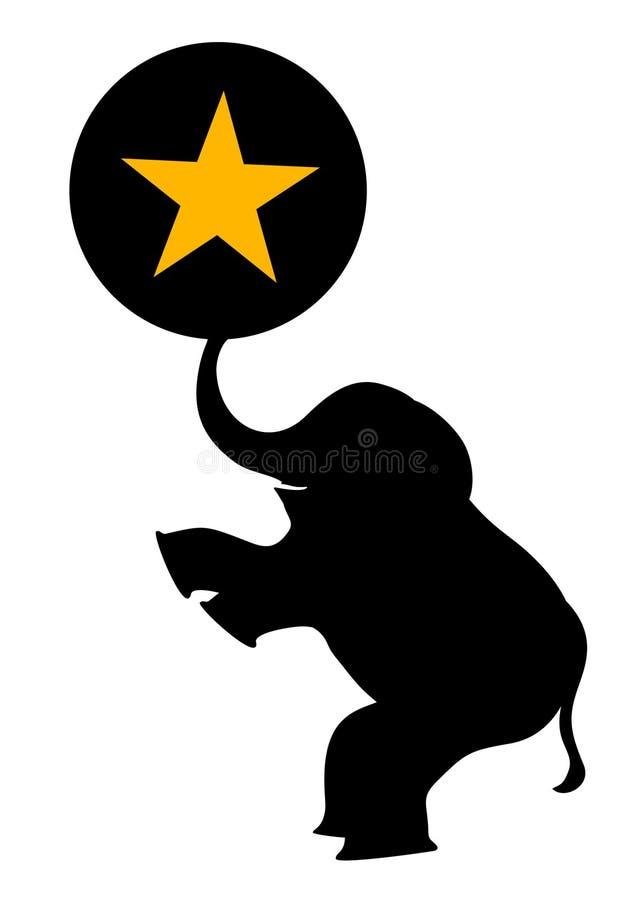 Talento animal ilustração royalty free