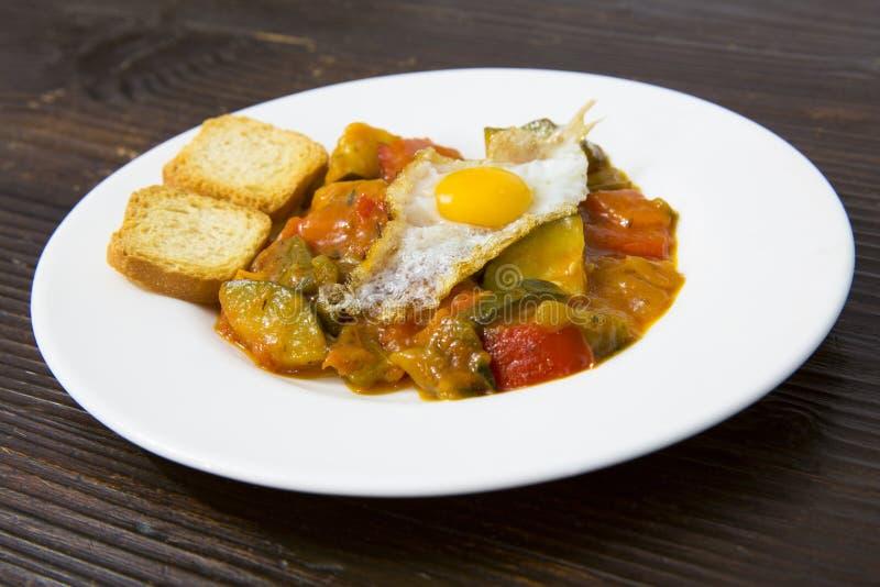 Talerz jedzenie. Hiszpański jedzenie. zdjęcia royalty free