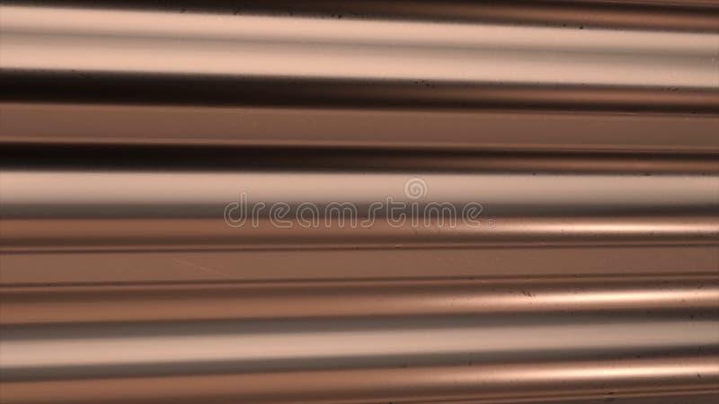 talerz metalu refleksje konsystencja _ Bezszwowa powierzchnia galwanizująca stal Metal deseniowa tekstura dla tła zbudować przemy obrazy stock
