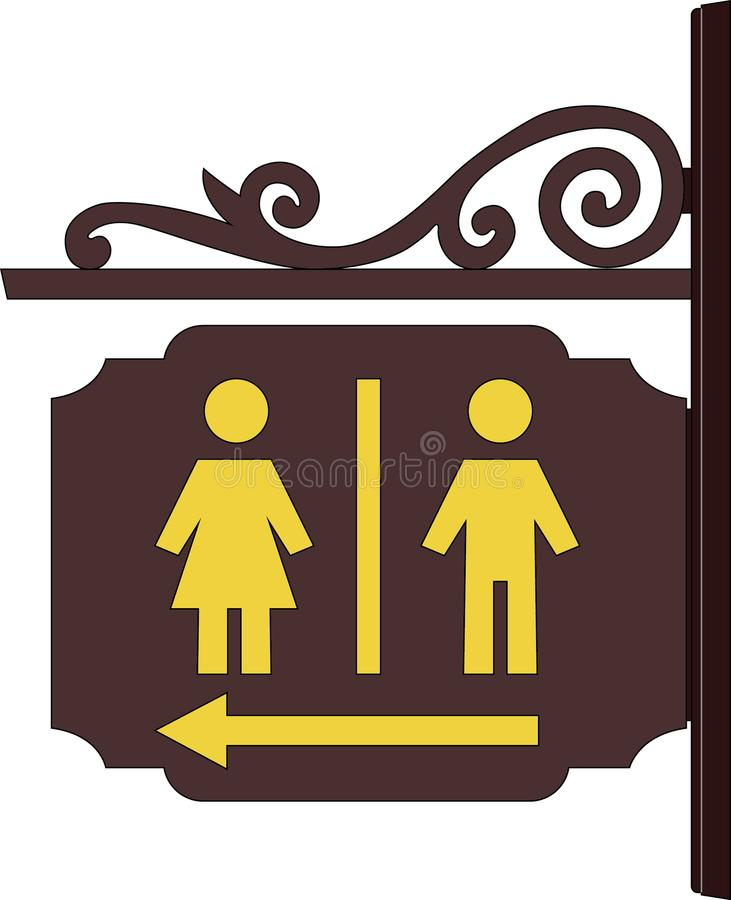 Talerz toalety obraz royalty free