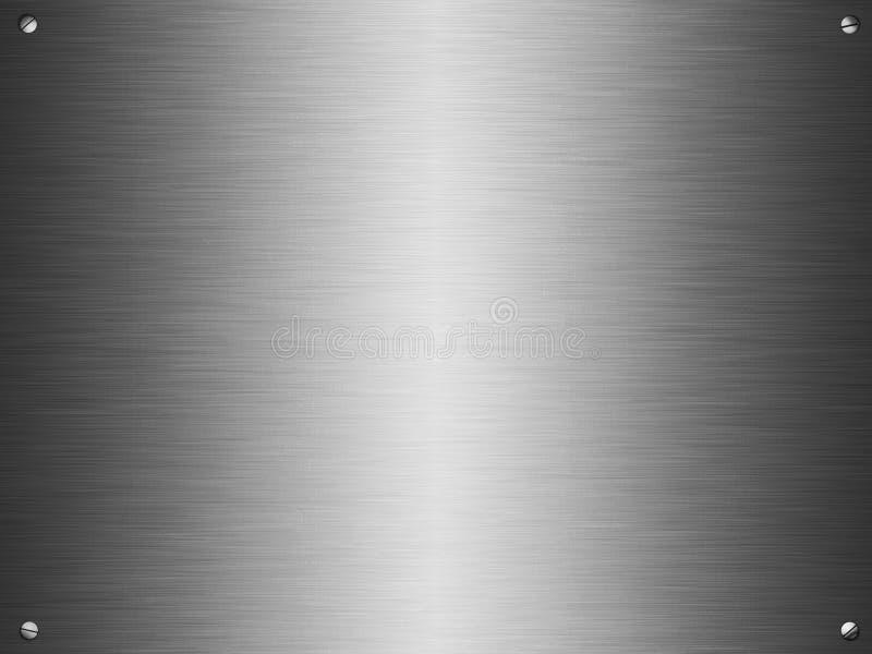 talerza oczyszczony srebro ilustracji