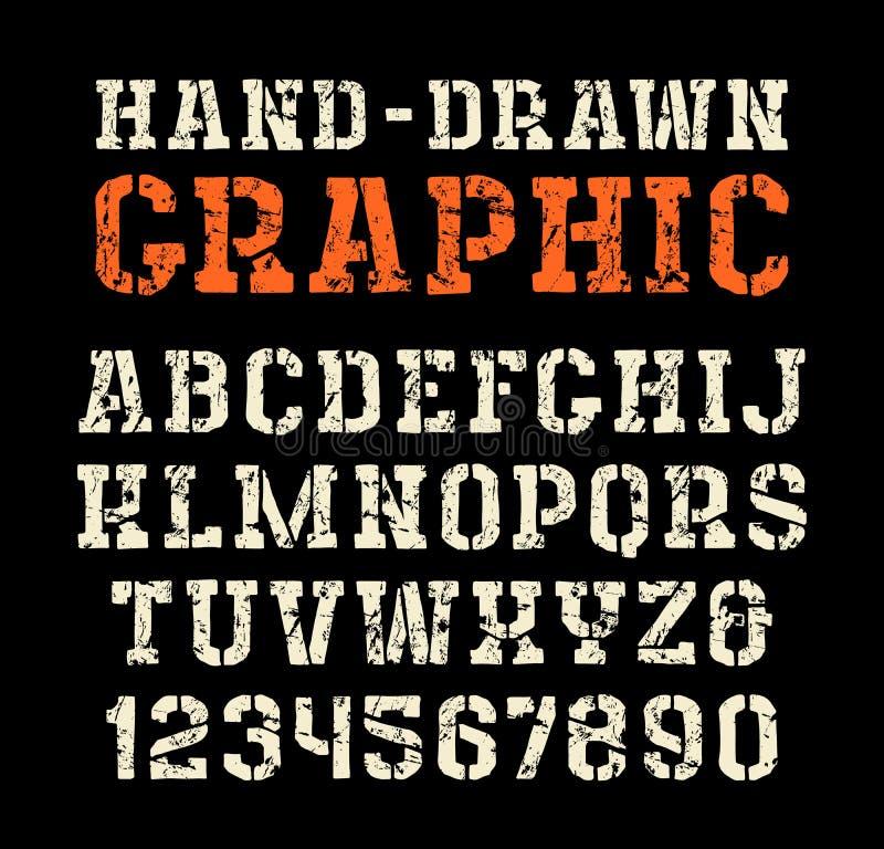 Talerza serif chrzcielnica w stylu handmade grafika ilustracja wektor