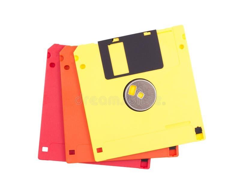 talerzowy floppy trzy zdjęcia royalty free