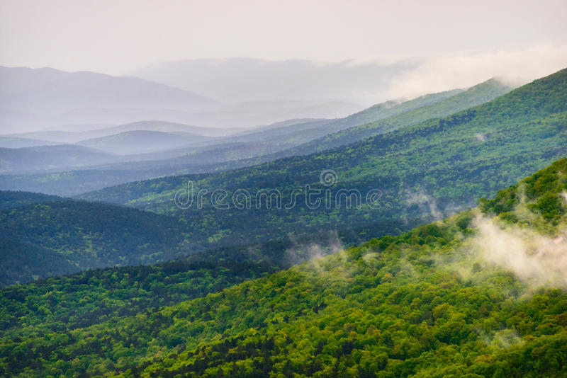 Talimena Scenic Drive royalty free stock image