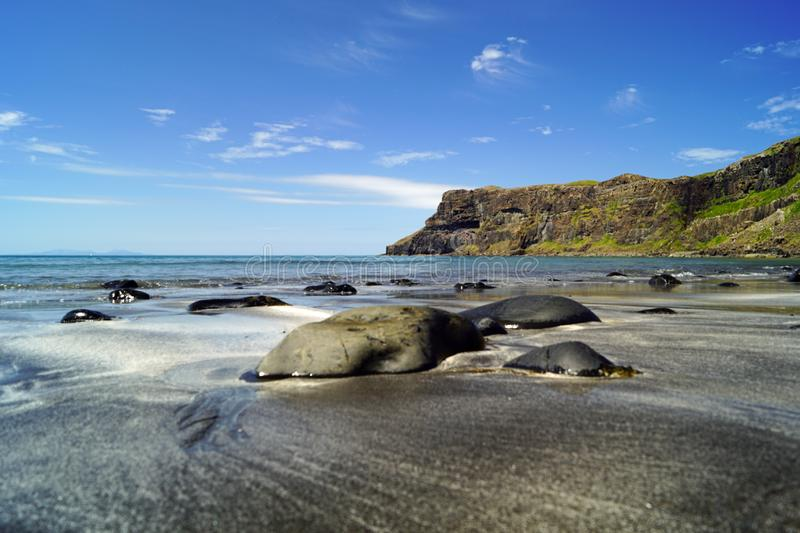 The Talisker Bay Beach royalty free stock photography