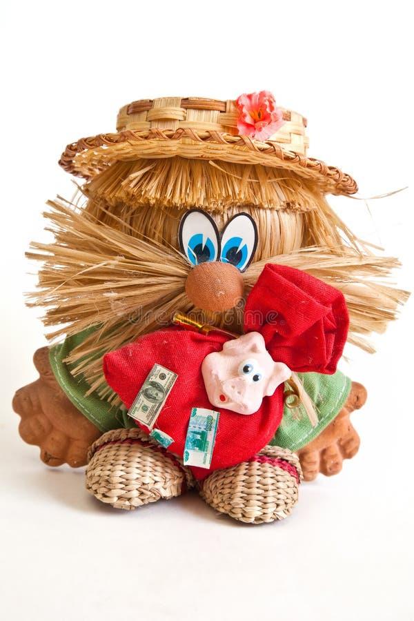 Talisman. Doll goblin. Souvenir for prosperity of house royalty free stock photo