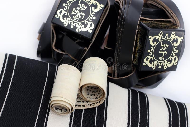 Talit e tfilin oggetti ebrei di preghiera fotografia for Oggetti usati gratis