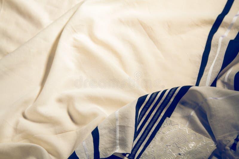 Talit - xaile de oração ritual judaico fotos de stock