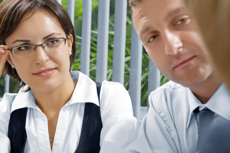 Download Talk stock image. Image of colleagues, businesswoman - 12530399
